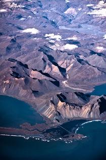 Aerial view of Iceland v.1 von Amos Edana