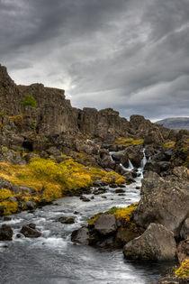 Icelandic Waterfall v.1 von Amos Edana