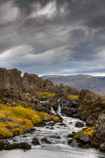 Icelandic Waterfall v.2 von Amos Edana
