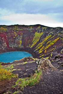 Volcanic Crater von Amos Edana
