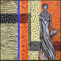 african woman by Bernd D. Kugler