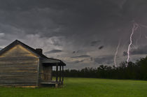 Storm Behind the Cabin