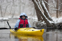 Winter Kayak von Steven Ross