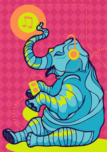 Young Elephant by lamarca