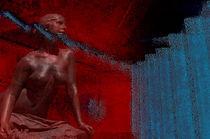 Desnudo con abstracto  Akt mit Zusammenfassung by Ricardo Anderson