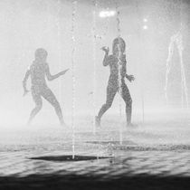 Playing in the fountain VII by erich-sacco