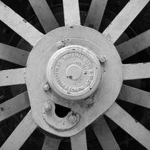 train wheel detail by erich-sacco