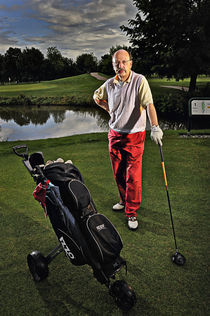 Golf player von Erik Schimmel