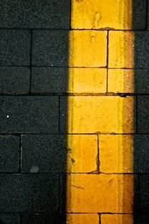Yellow asphalt by grapunzel
