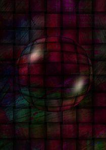 Kugel auf Farbgrund von Eckhard Röder