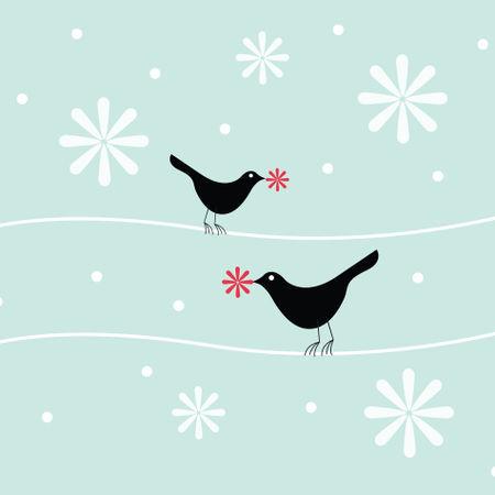 Snowflakebirds