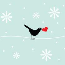 snowflake bird von thomasdesign