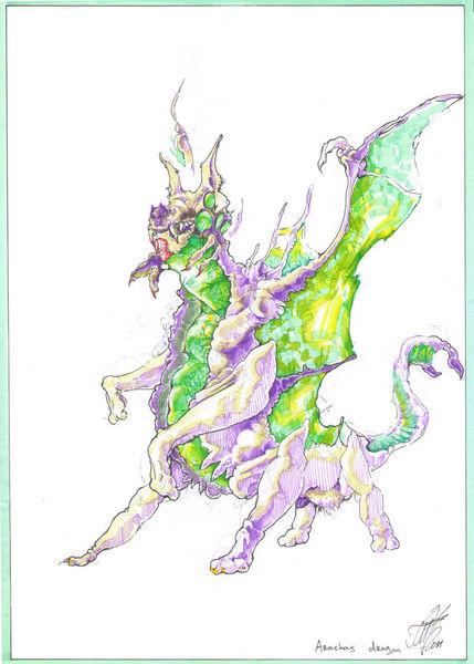 Arachas-dragon