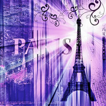 Paris Collage by Städtecollagen Lehmann