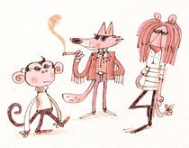 Hep Critters by Fred Blunt