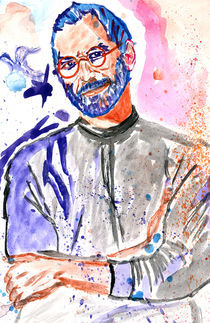 Steve Jobs - a Tribute' 2 by Hassaam Ali