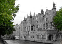 Brugge old and green by lali-perez