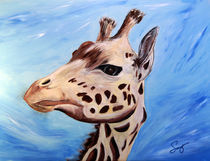 West African Giraffe by Craig S