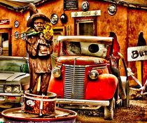 RED CAR by Maks Erlikh