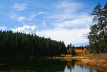 Autumn Lake by cjwesselsphotography