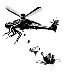 Dragonfly-helicopter-stencil