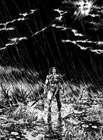 RAIN by Benito Gallego