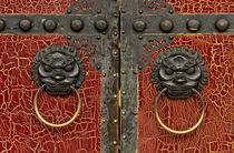 Red Chinese Door by ignacio santonja