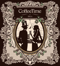 Coffee Time 5 by Sergio Laskin