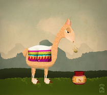 Llama lama von miroslava soriano