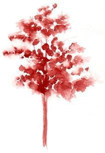 Red Tree by Sandy McDermott