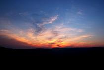 Mam Tor Sunset by Bernard Cavanagh