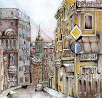 Winter in Moscow von riversaredeep