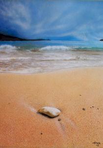 Beach Scene by rininci
