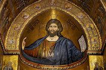 Christ Pantocrator mosaic, Monreale von RicardMN Photography