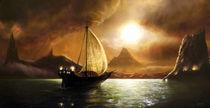 Sailing to Acheron von David Demaret