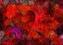 Liebe ist mehr als nur ein Wort by Eckhard Röder