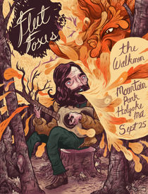 Fleet Foxes Poster von Logan Faerber