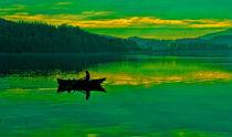 Boot im See von Michael Johansen