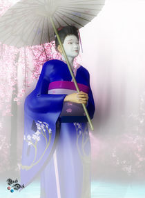A Geisha's Smile by axel-doi