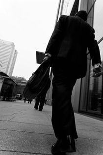Men with briefcase von Vincenzo Mercedes