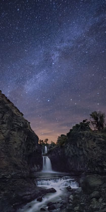 White River Falls at Night von Ben  Canales