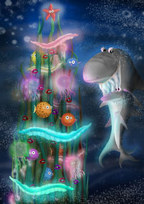 Xmas under the sea by Eszter Fézler