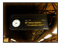Berliner U-Bahn von der komischen Seite von Su Purol