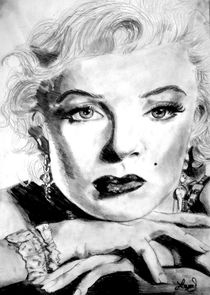 Marilyn Monroe by laura seed
