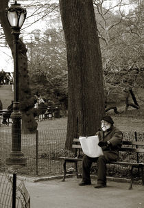 An artist in Central Park by RicardMN Photography