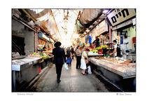 Market Place, Jerusalem, Israel von Elena and Barnett Comens