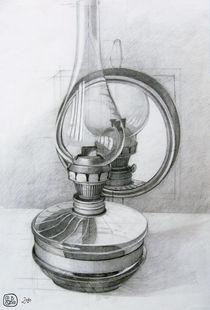Petroleum lantern by Katalin Szasz-Bacso