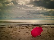 Der rote Schirm von Jürgen Müngersdorf