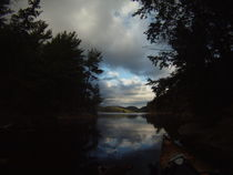 Storm rolling over Grace Lake. by Chelsea McPherson