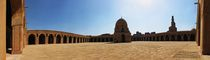 The Courtyard - Masjid Ahmed Ibn Tulun- Panoramic View / Cairo / Egypt - 28 05 2010 by Ahmed Al.badawy